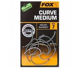 Fox Edges Curve Medium Serisi Sazan İğnesi (10'lu Paket)