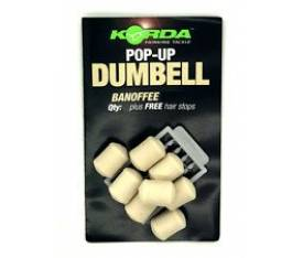 Korda Pop up Dumbell Banoffee 8MM